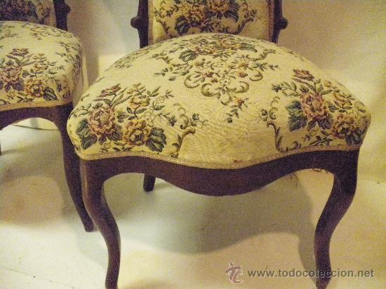 par de sillas victorianas  Comprar Sillas Antiguas en