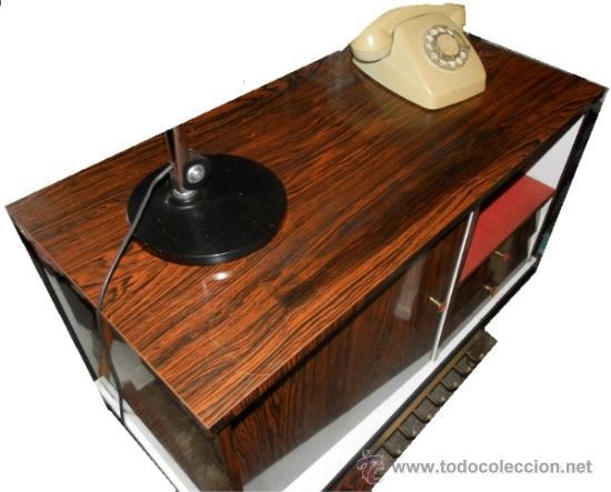 mesamueble bar tv televisor televisionaos 60  Comprar Muebles vintage en todocoleccion  36591293