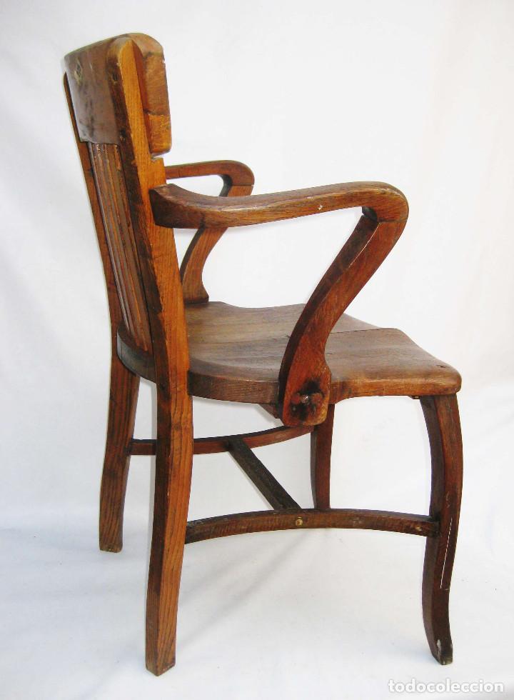 espectacular silla antigua sillon antiguo desp  Comprar