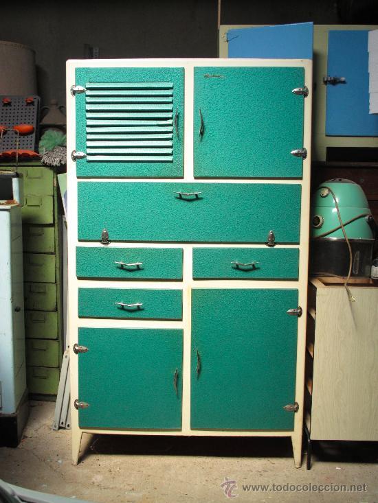 Alacena armario cocina vintage aos 50 aos 60  Vendido