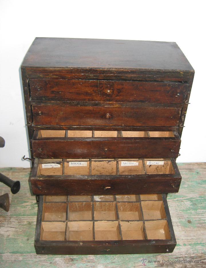 mejorado mueble cajonera antiguo tienda ideal  Comprar