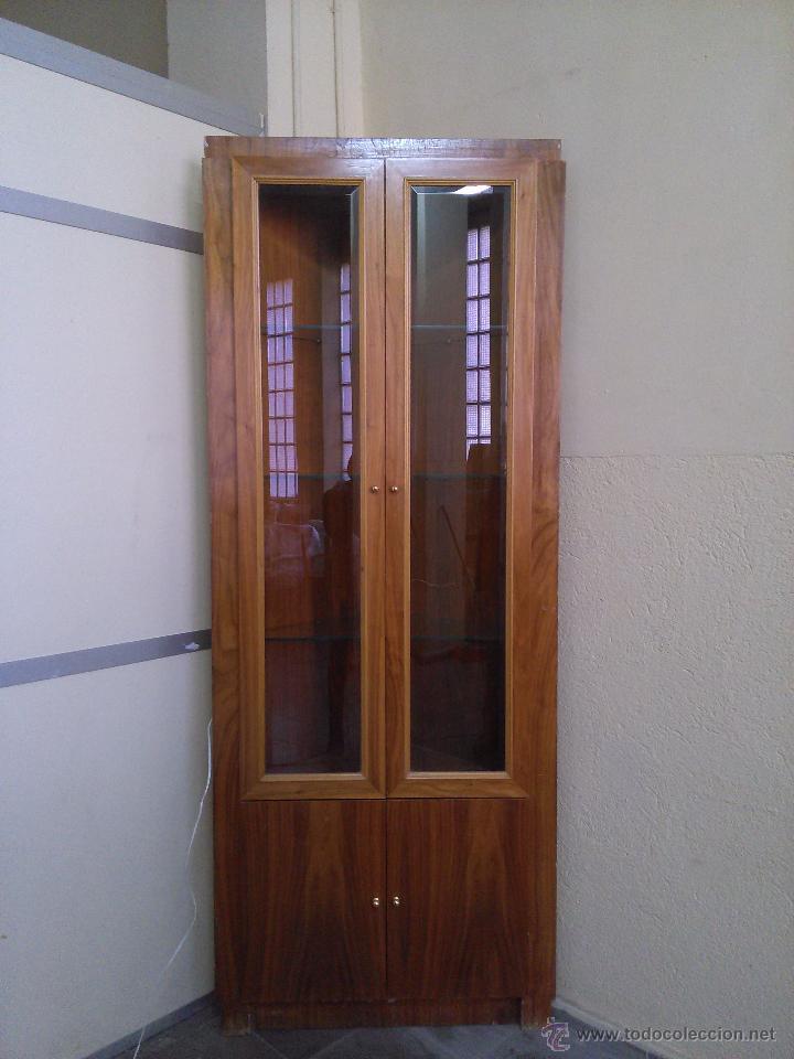 vitrina  mueble esquinero  Comprar Muebles vintage en todocoleccion  77856967
