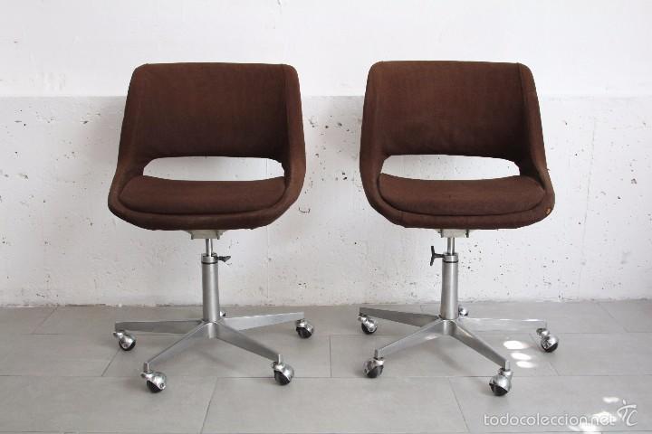 Silln butaca silla oficina giratoria mini kilt  Vendido