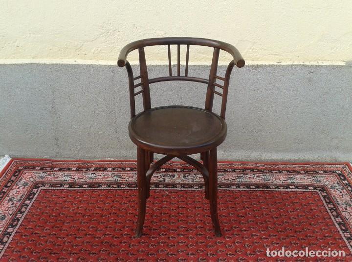 rara silla antigua de cafetera estilo modernis  Comprar