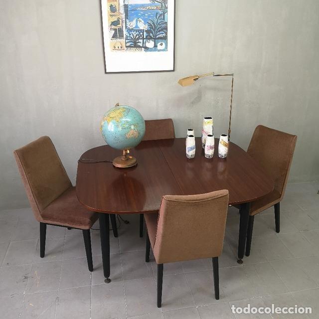 Juego de comedor vintage mesa y sillas francesa  Vendido