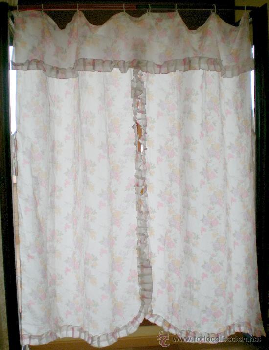Cortinas Vintage Cortinas Opacas Florales Vintage Hechas