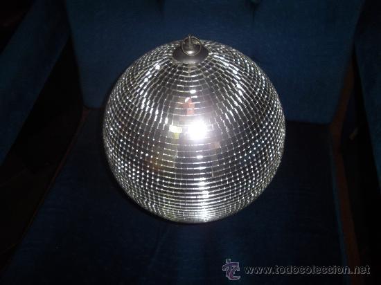 brillante bola espejo discoteca space age disco  Comprar en todocoleccion  37590716