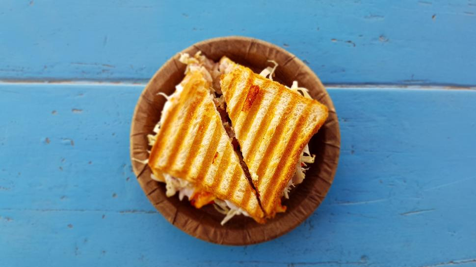 Catalan Food - Grilled Sandwich