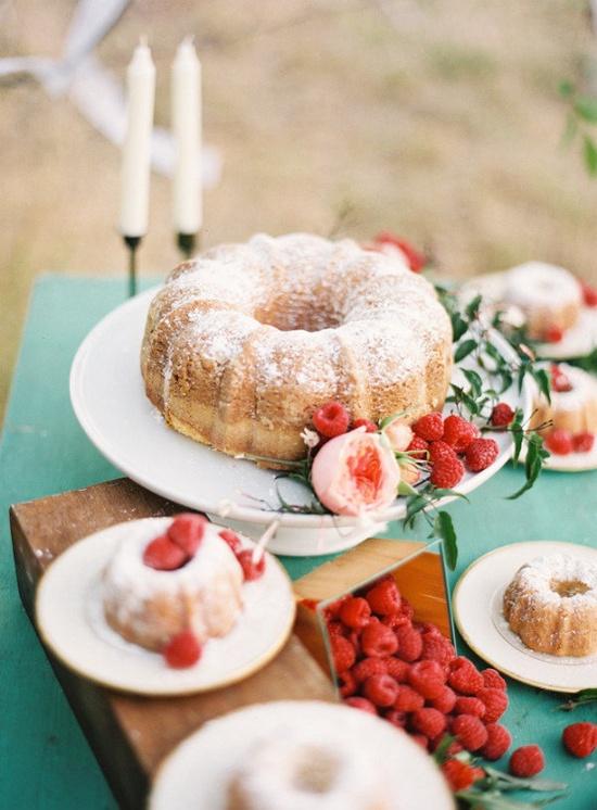 Wedding Bundt Cake Inspiration