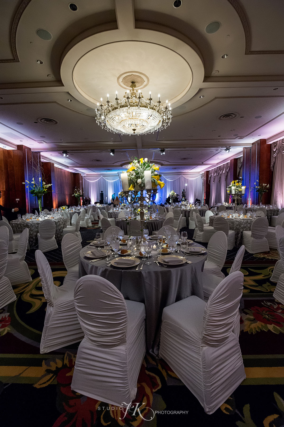 chair covers gray folding australia cloud 9 wedding at the brown palace hotel