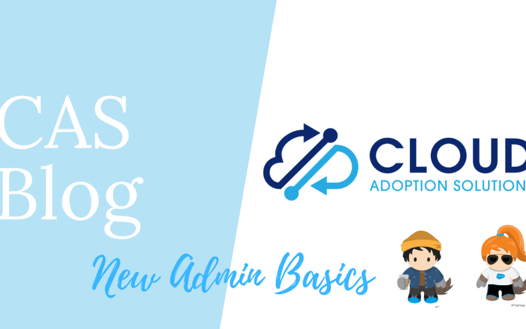 Blog: Getting Started as a New or Accidental Salesforce Admin