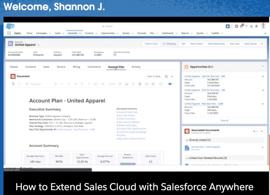 extend sales cloud with salesforce Centered Innovation