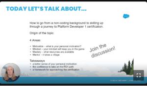 Salesforce Platform Developer I
