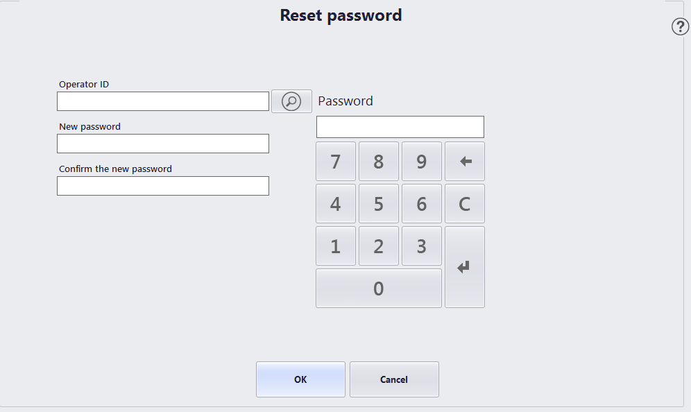 AX for Retail 2012 R2: Password maintenance in the POS