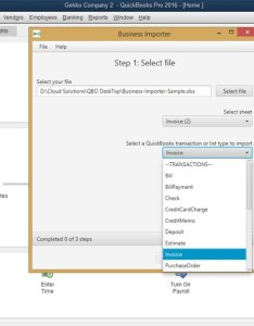 Import invoices into quickbooks desktop upload file also using business importer rh cloudbusinessllc