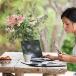 employees work remotely