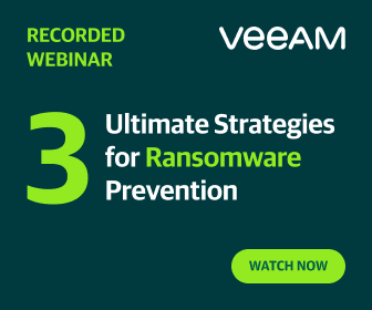 Veeam 3 Ultimate Strategies