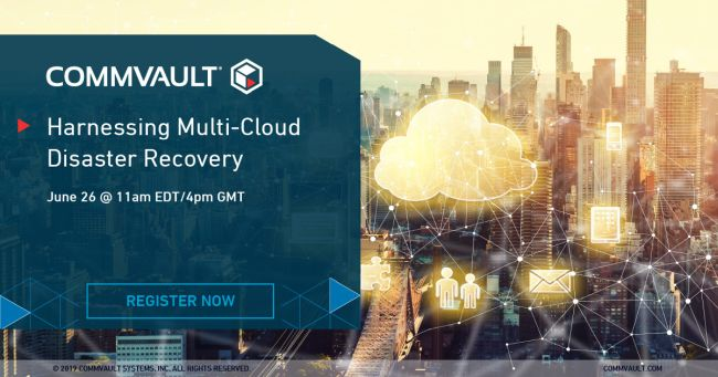 Webinar: Harnessing Multi-Cloud Disaster Recovery