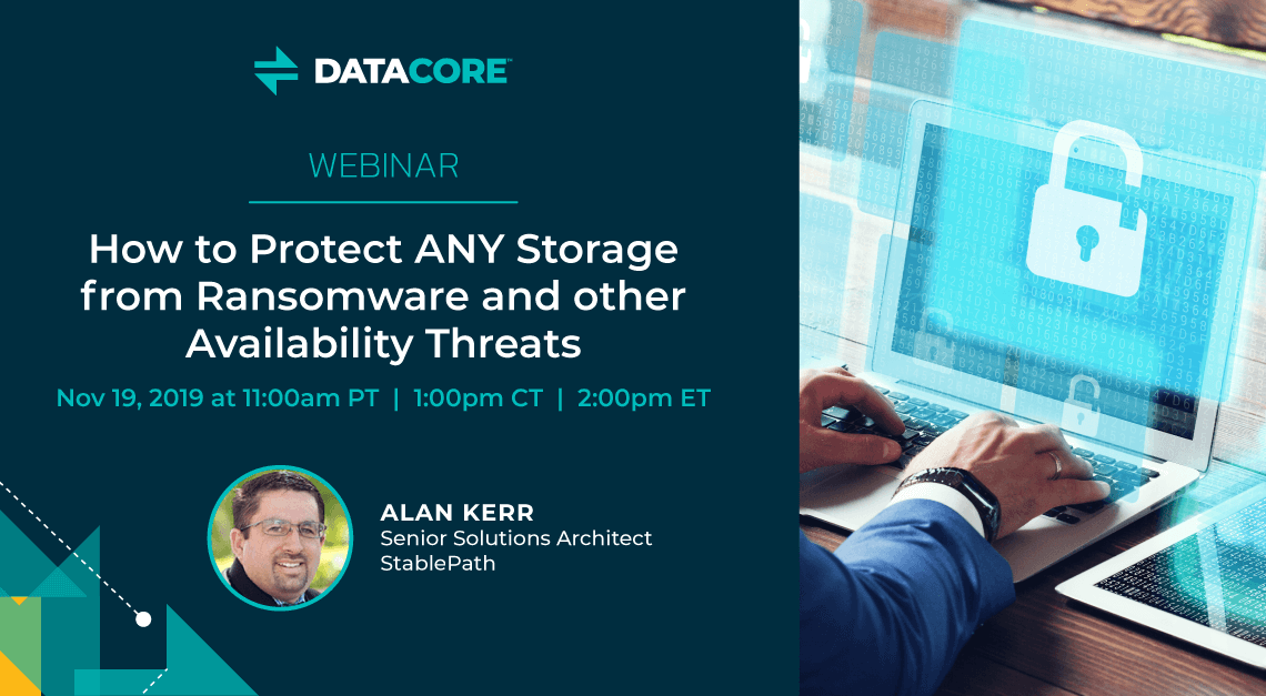 Webinar: How to Protect Any Storage from Ransomware and other Availability Threats