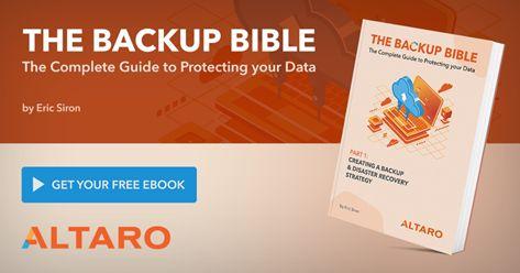 Free eBook: The Backup Bible