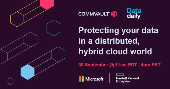 Protecting your data in a distributed, Hybrid Cloud world