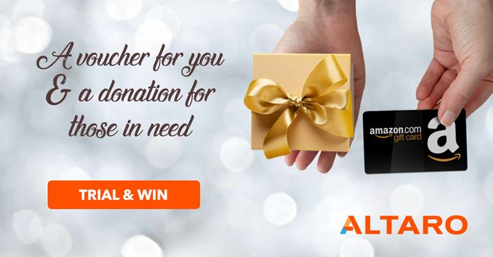 This Holiday Season, WIN with Altaro!