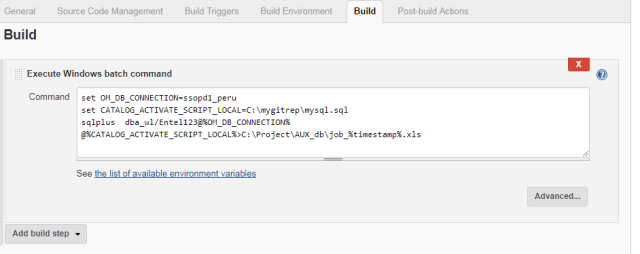 Automated sql code deployment using Github and Jenkins