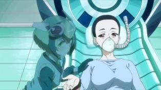 She's in Kyouma's memories!