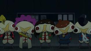 The Gomorin school squad.