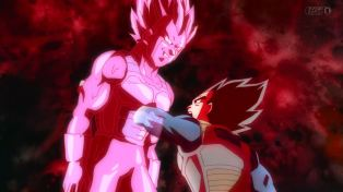 You're just a shell, Vegeta.