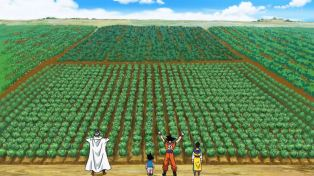 Goku can't be that good a farmer.