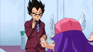 Vegeta is all for this.
