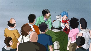 Dr. Bulma to the rescue.