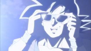 Goku brings the shade.