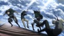 Mikasa can't finish the job.