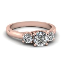 Rose Gold Rings: Rose Gold Rings Diamonds