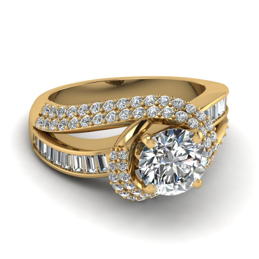 Yellow Gold Engagement Rings: Yellow Gold Engagement Rings