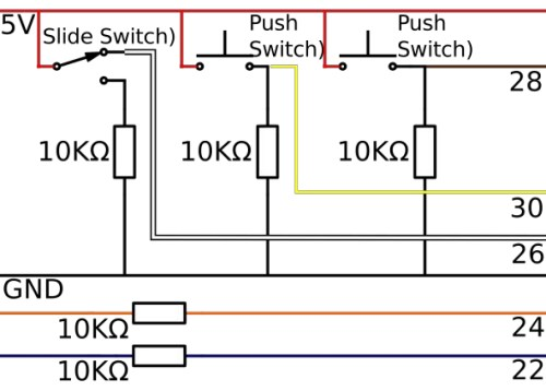 small resolution of the bionic clicker mark i ii protocol slide switch wire configuration complete april 14 2013