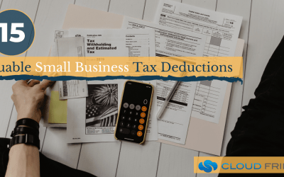 15 Valuable Small Business Tax Deductions
