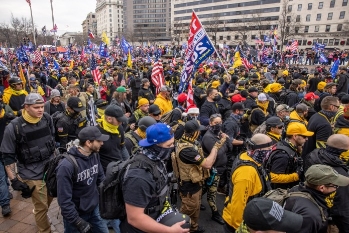Huge hack reveals details of who's behind Proud Boys and other far-right  websites