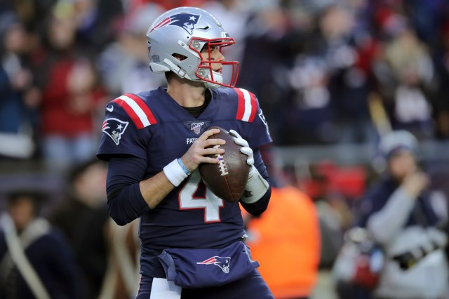 Can Jarrett Stidham replace Tom Brady? QB practiced vs. NFL's top defense  and sometimes 'ate us up in practice' - masslive.com