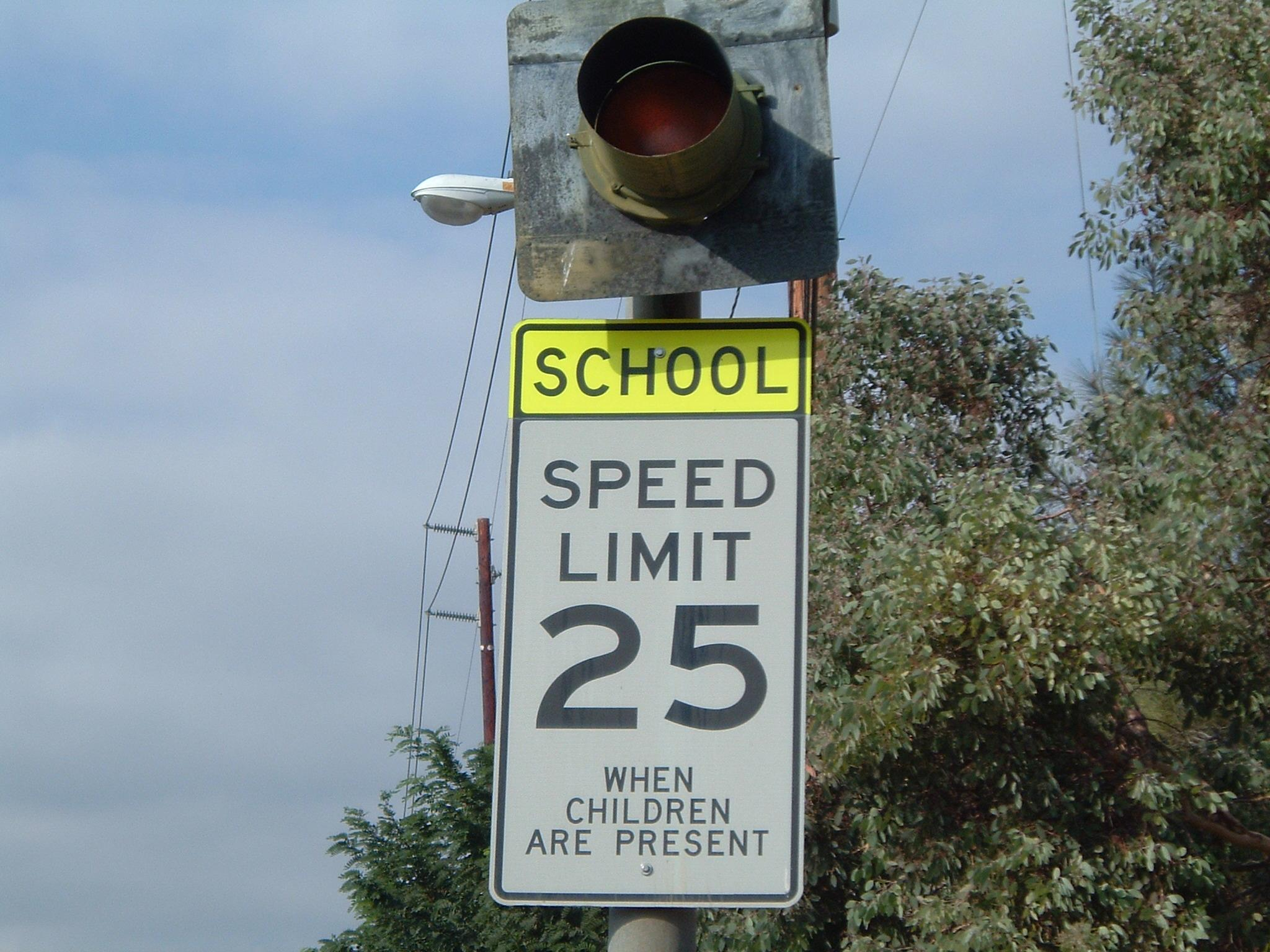 California State Senator Wants To Allow Speeding Cameras In School Zones 3/20/21