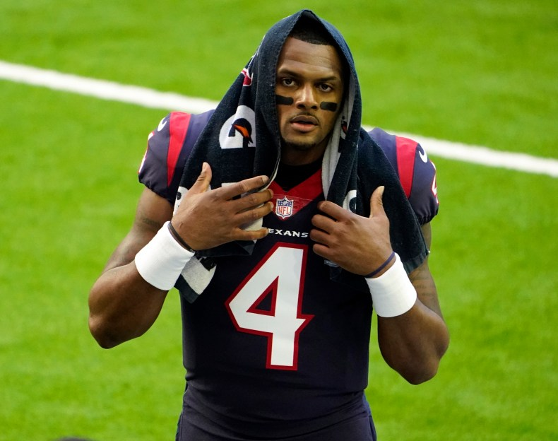 Deshaun Watson's situation remains unclear, with little indication of whether he'll start the season on the commissioner's exempt list or how long he'll sit.