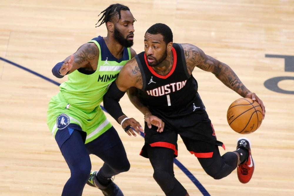 Porter scores 25 points, Rockets beat Timberwolves 129-107