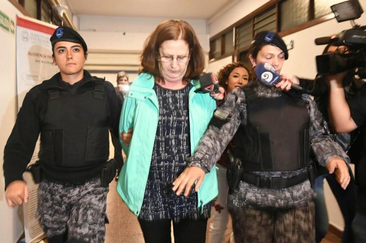 La ex representante legal del instituto, Graciela Pascual; una de las 9 imputadas en el segundo juicio. Foto: Ignacio Blanco / Los Andes
