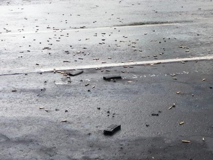 Las terribles imágenes que dejó el atentado contra Omar García ...
