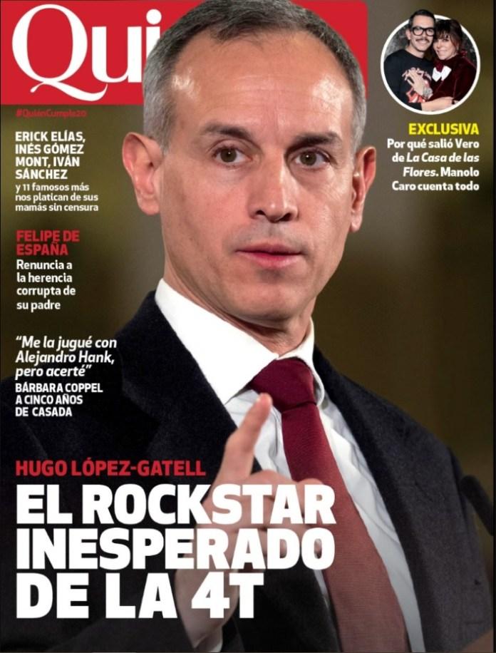 """El rockstar inesperado de la 4T"""": la portada de revista de Hugo López-Gatell  que desató una polémica - Infobae"""