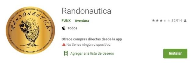 """Esta app promete una """"una verdadera aventura de aleatoriedad"""" (Foto: Captura de pantalla/ Google Play)"""