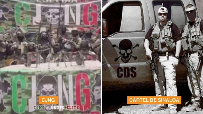 Zona de Guerra del CJNG contra el Cártel de Sinaloa representa 34% de los  asesinatos en México - Infobae