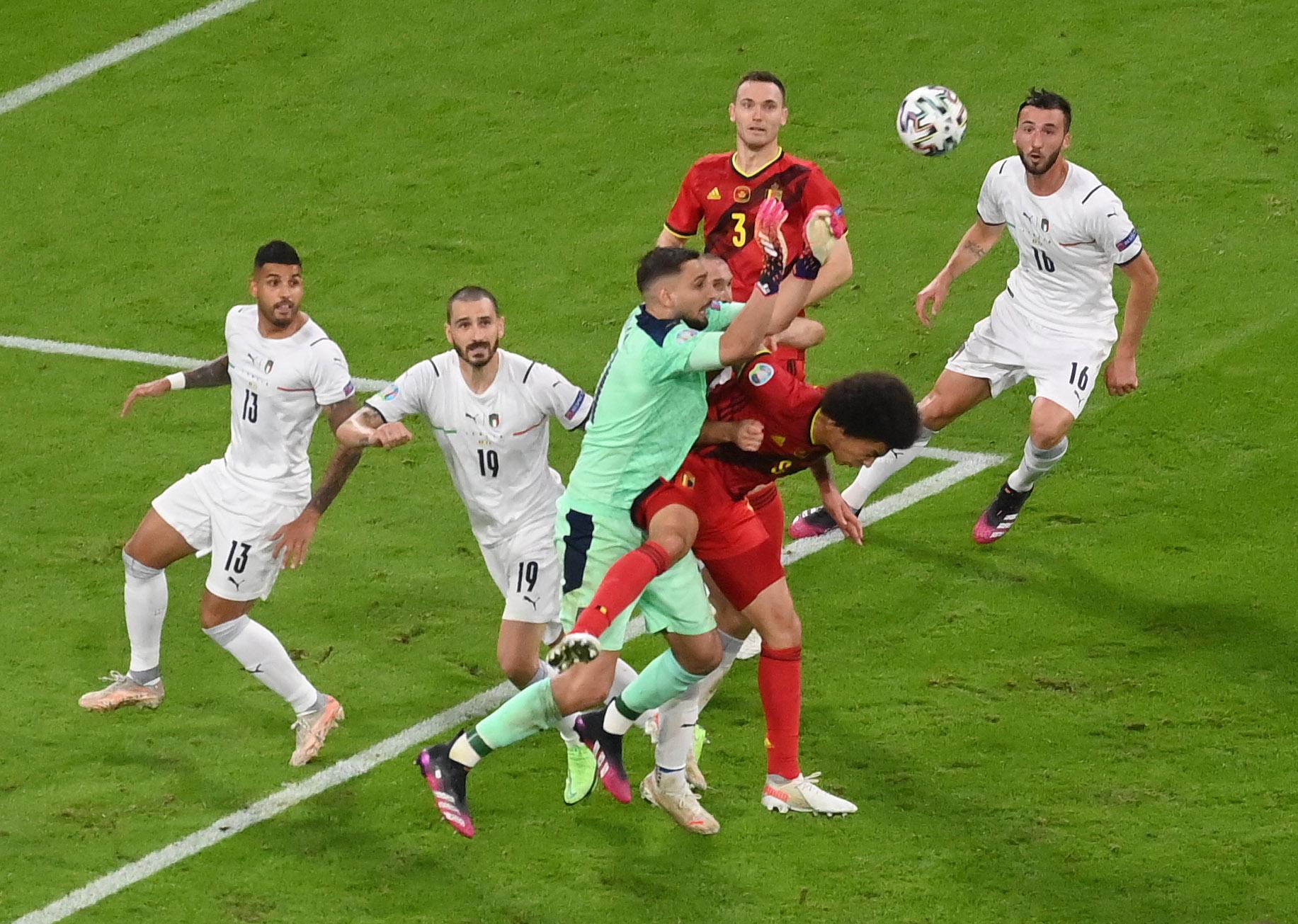 Italy edge Belgium in thriller to reach Euro 2020 semis   Reuters